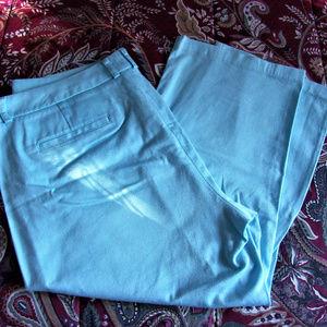 DOCKERS' WOMEN'S BLUE CAPRI SIZE 14